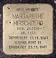 Stolperstein Kantstr 59 (Charl) Margarethe Hirschberg.jpg