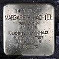 Stolperstein Motzstr 25 (Schön) Margarete Wachtel.jpg