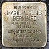 Stolperstein Peter-Hille-Str 17 (Frihg) Marie Aurelie Bernhard.jpg