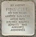 Stolperstein für Frima Czipis (Koekelberg).jpg