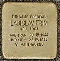 Stolperstein für Ladislav Frim (Murska Sobota).jpg