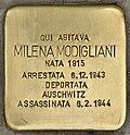 Stolperstein für Milena Modigliani (Napoli).jpg