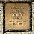 Stolperstein in Hannover für Fritz Frensdorff.jpg