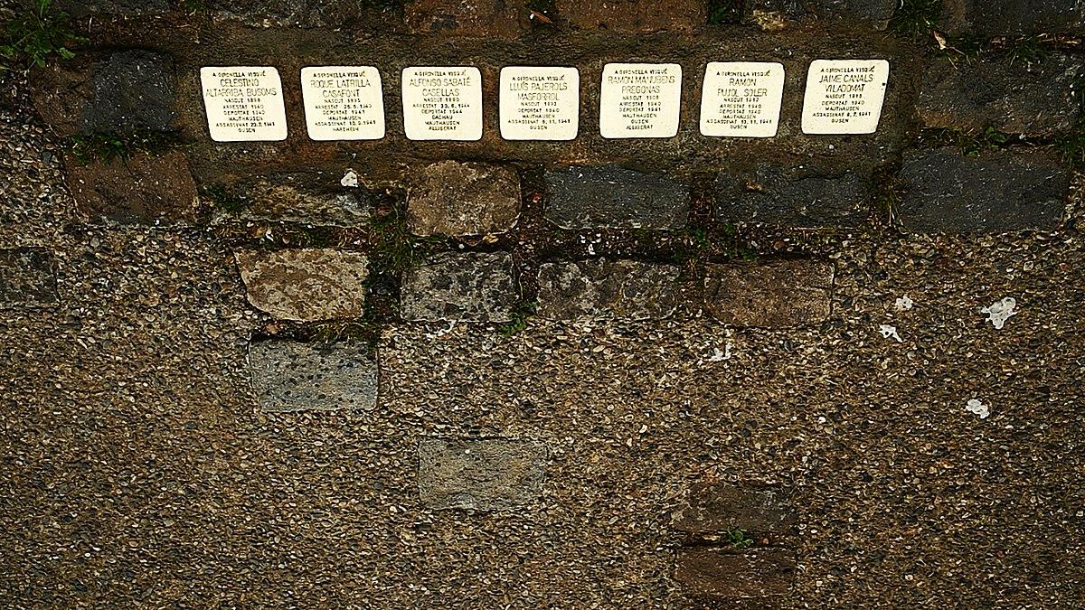 Liste der Stolpersteine in der Comarca Berguedà – Wikipedia