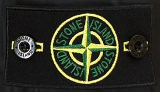 Stone Island - Stone Island is known by its compass patch that buttons onto the upper sleeve of the left arm