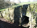 Stone chute in wall near Acomb House - geograph.org.uk - 1286563.jpg