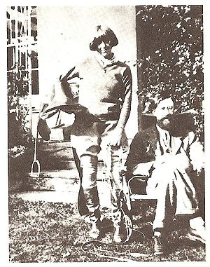 Dora Carrington - Dora Carrington and Lytton Strachey