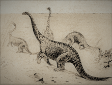 Strange Creatures of the Past - The Amphibious Dinosaur.png