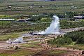 Strokkur, Área geotérmica de Geysir, Suðurland, Islandia, 2014-08-16, DD 098.JPG