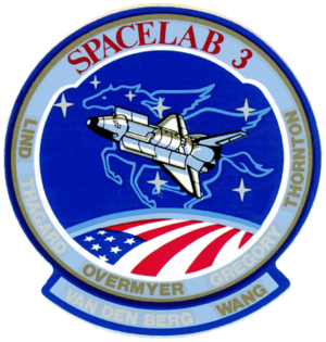STS-51-B - Image: Sts 51 b patch