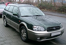Subaru Legacy Outback front 20071231.jpg