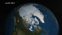Податотека:Summer Arctic Sea Ice Retreat - May - August 2013.ogv