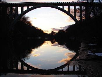 Sunset Halenbrücke.JPG