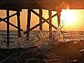 Sunset Under the Pier.JPG