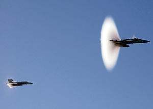 Supersonic aircraft breaking sound barrier.jpg