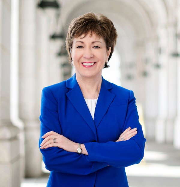Susan Collins official Senate photo