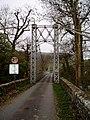 Suspension bridge over the Wye near Llanstephan - geograph.org.uk - 1584206.jpg