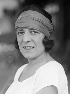 Suzanne Lenglen French tennis player