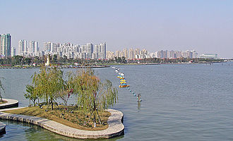 Suzhou Industrial Park - The park with the west bank of Jinji Lake