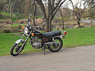 Suzuki GN250 - Image: Suzuki GN250 Motorcycle