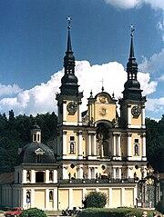 St. Mary Church in Święta Lipka (1730)