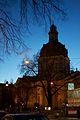 Sweden - Stockholm 34 - night-lit church (7089575897).jpg