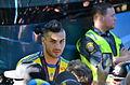 Sweden national under-21 football team, Euro 2015 celebration, players 32.JPG
