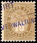 Switzerland Bern 1878 revenue 10Fr - 8A.jpg