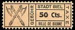 Switzerland Biel Bienne 1921 revenue 50c - 48.jpg