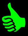 Symbol thumbs up green.png