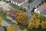 Szent Ilona templom, Nagyvázsony légi fotó.jpg
