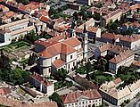 Szombathely Cathedral aerial.jpg