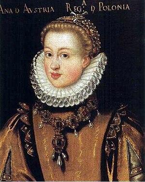 Anne of Austria, Queen of Poland - Image: Szwankowski Anna of Austria