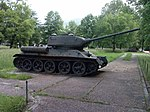 T-34-85 in military base in Zenica.jpg