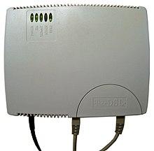 Un modem DSL