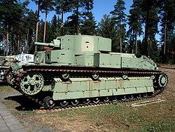 T–28 a parolai Finn Harckocsi Múzeumban