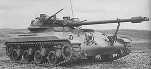 T92 Light Tank - T92 on original trials