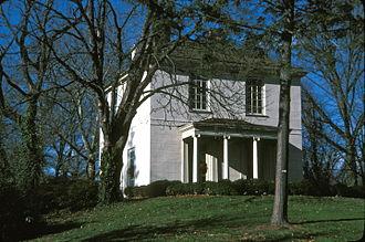"Philadelphia Zoo - ""The Solitude"" built by John Penn in 1785 is in the zoo"