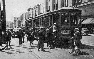 Yonge streetcar line