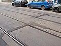 TT Anděl – Hlubočepy, Na Knížecí, BKV panely.jpg