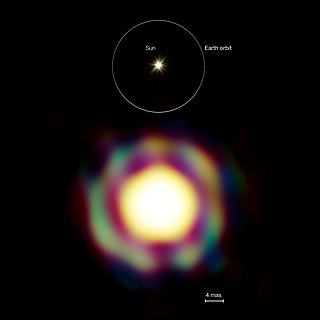 T Leporis Variable star in the constellation Lepus