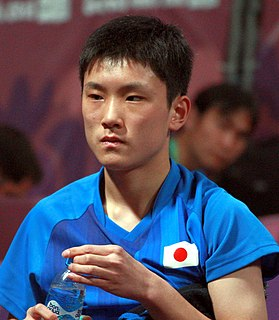 Tomokazu Harimoto Japanese table tennis player