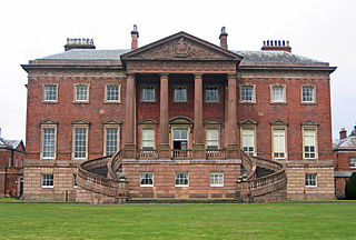 Tabley House former house, now school, at Tabley Inferior, Cheshire, England
