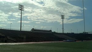 Tad Gormley Stadium - Image: Tad Gormley Stadium (New Orleans, LA) Home Grandstand