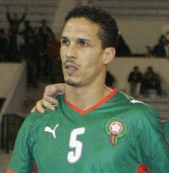Talal El Karkouri - El Karkouri lining up for Morocco in 2009