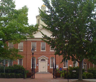 Easton, Maryland - Image: Talbot County Courthouse, Easton, Maryland (2008)