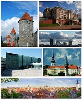 Tallinn Capital of Estonia