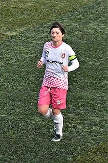 Tamari Tatuashvili Georgian footballer
