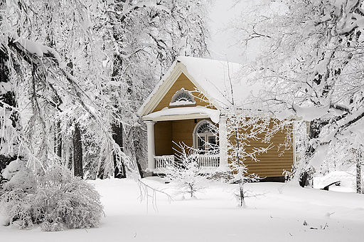 Tea House in winter - Vihula Manor Country Club & Spa