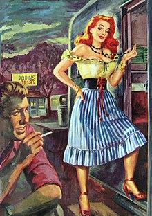 21fa9338d Esta pintura de un artista norteamericano aparecía en la portada del libro  Tease The Wild Flame. Gouache sobre tabla.